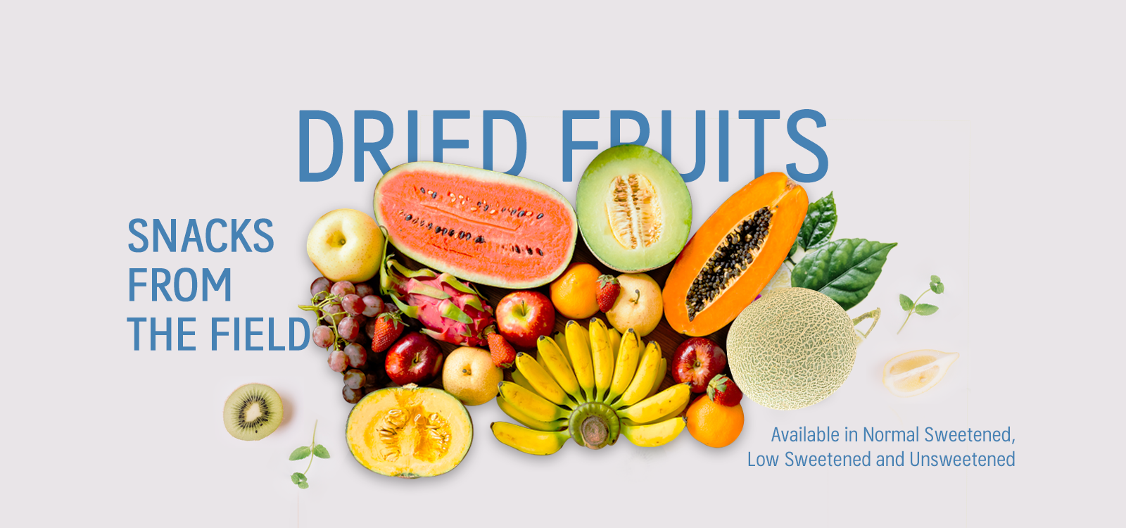 The World of Dried Fruits is just right at your fingertips